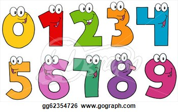 Numbers clipart #19, Download drawings