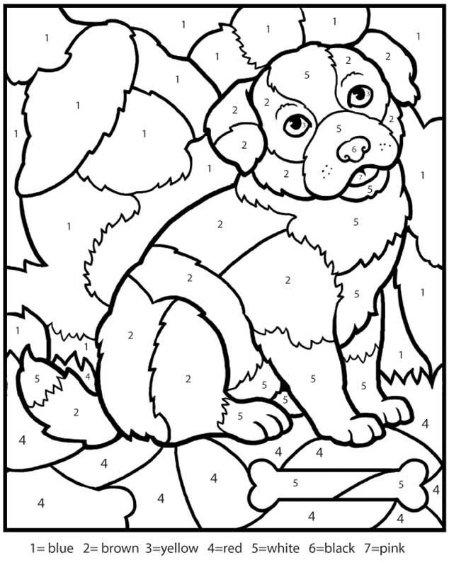 Numbers coloring #2, Download drawings