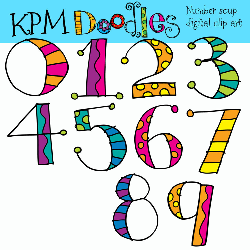 Numbers clipart #5, Download drawings