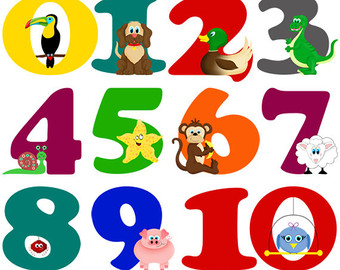 Numbers clipart #3, Download drawings