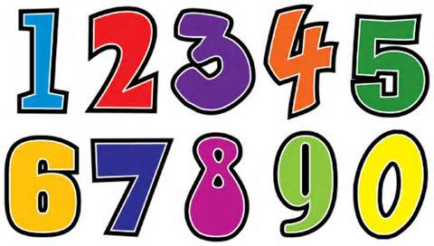 Numbers clipart #16, Download drawings