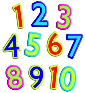Numbers clipart #20, Download drawings