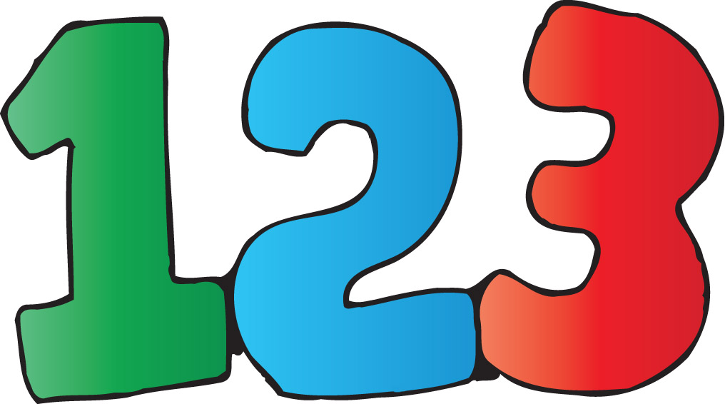 Numbers clipart #9, Download drawings