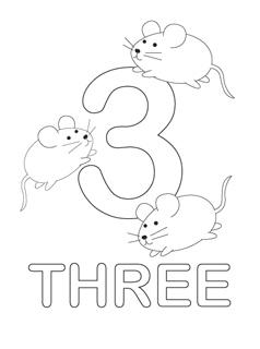 Numbers coloring #12, Download drawings