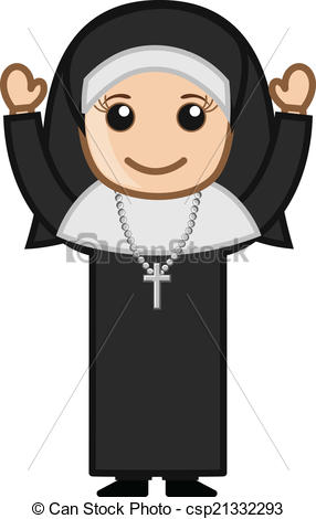 Nun clipart #9, Download drawings