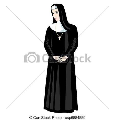 Nun clipart #15, Download drawings