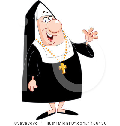 Nun clipart #18, Download drawings