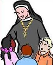 Nun clipart #4, Download drawings