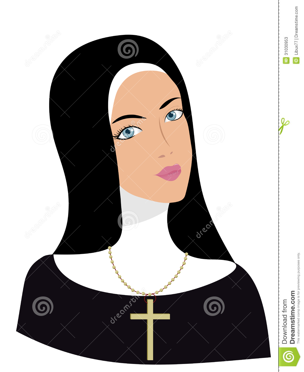 Nun clipart #8, Download drawings