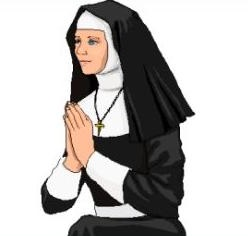 Nun clipart #19, Download drawings