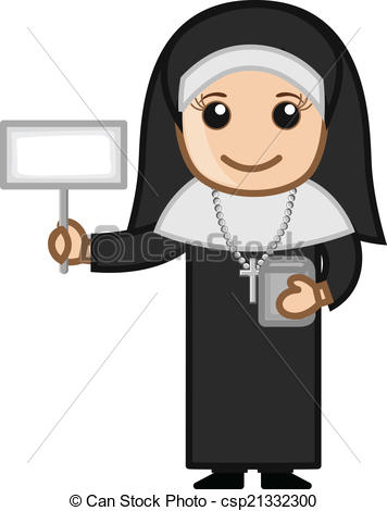 Nun clipart #14, Download drawings