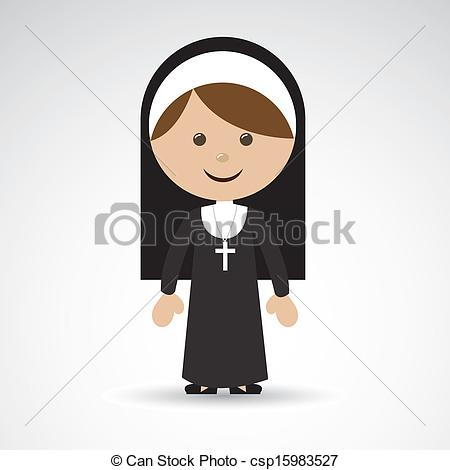 Nun clipart #12, Download drawings