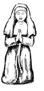Nun coloring #8, Download drawings