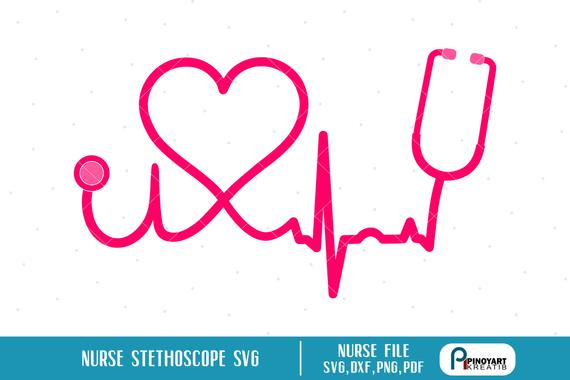 nurse stethoscope svg #524, Download drawings