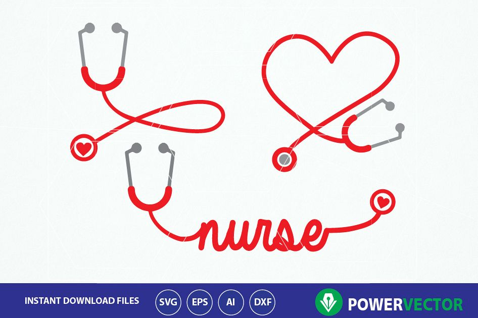 nurse stethoscope svg #525, Download drawings