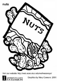 Nut coloring #7, Download drawings