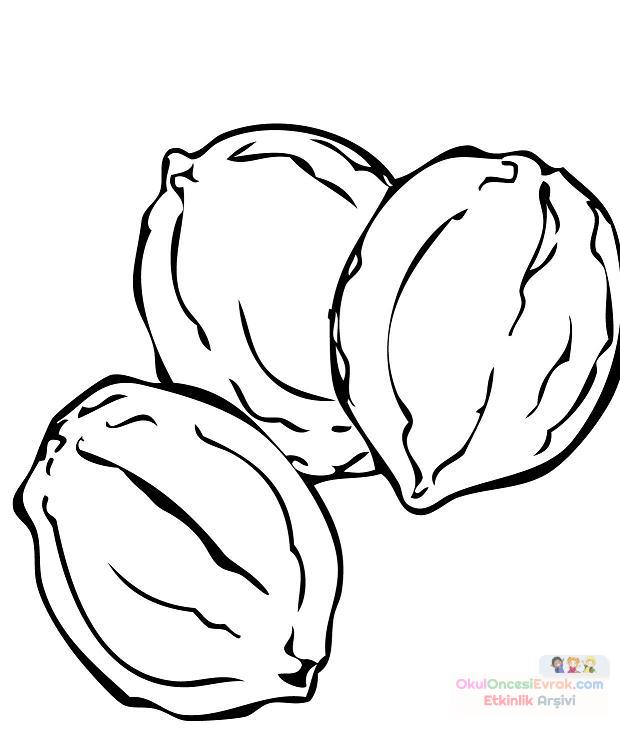 Nut coloring #19, Download drawings