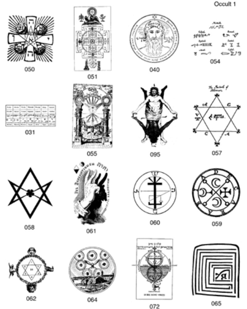 Oocult clipart #2, Download drawings