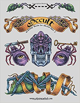 Occult coloring #9, Download drawings