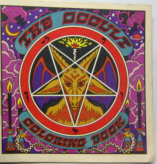 Occult coloring #1, Download drawings