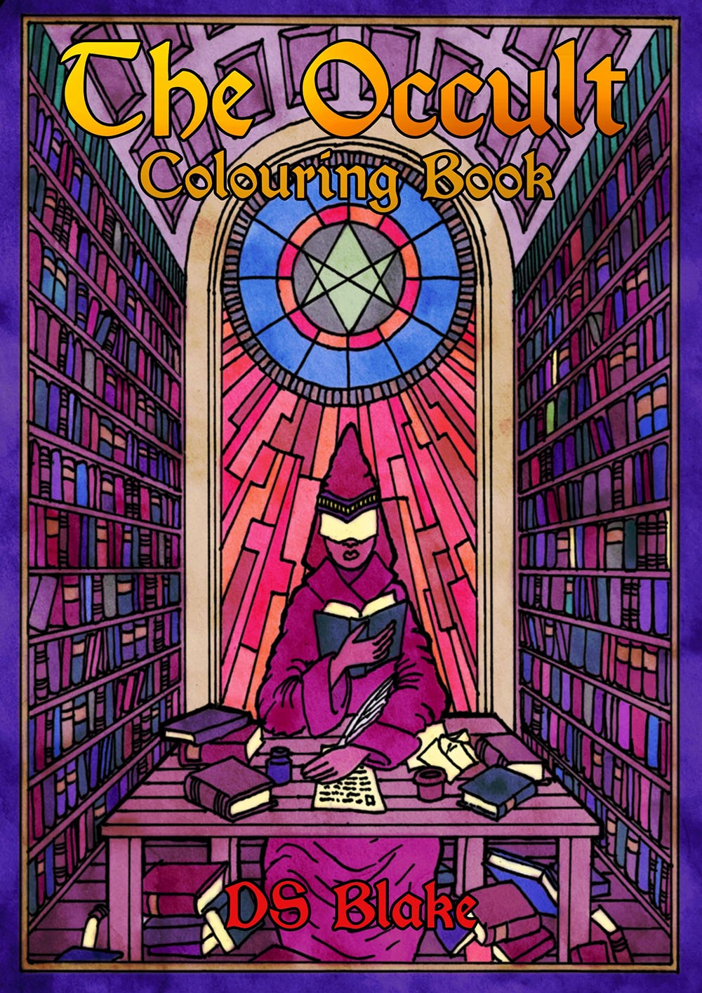 Occult coloring #17, Download drawings