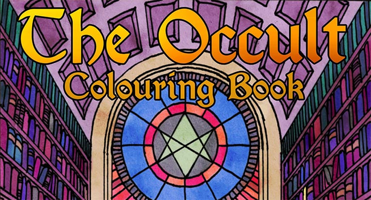 Occult coloring #19, Download drawings