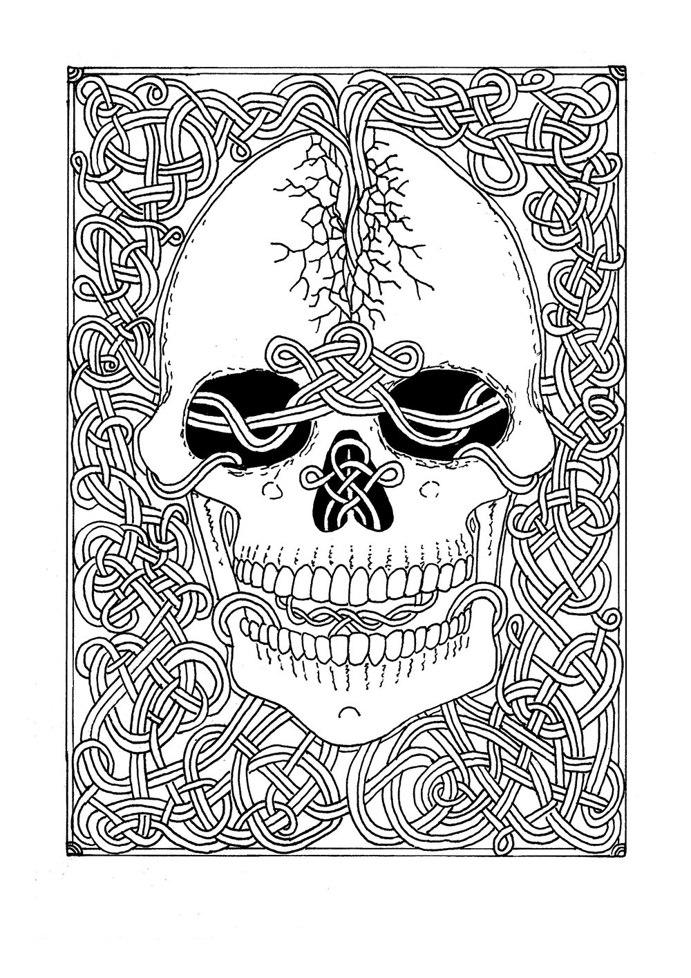 Occult coloring #13, Download drawings