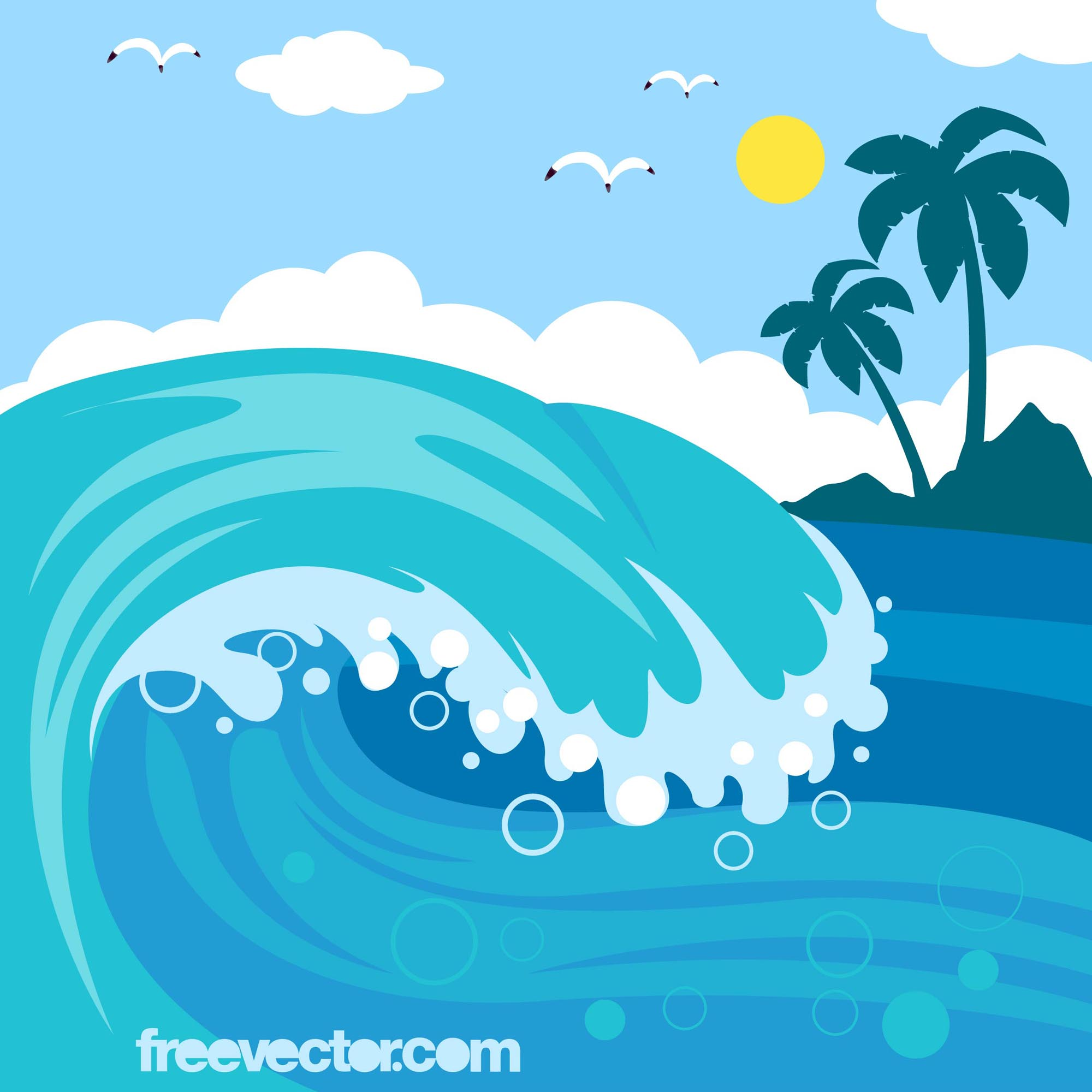 Ocean clipart #7, Download drawings