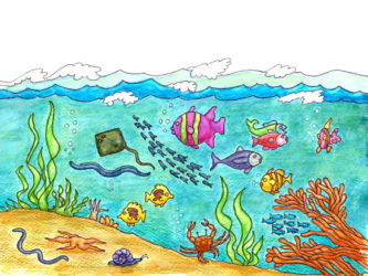 Ocean clipart #5, Download drawings