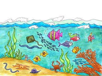 Ocean clipart #5, Download drawings