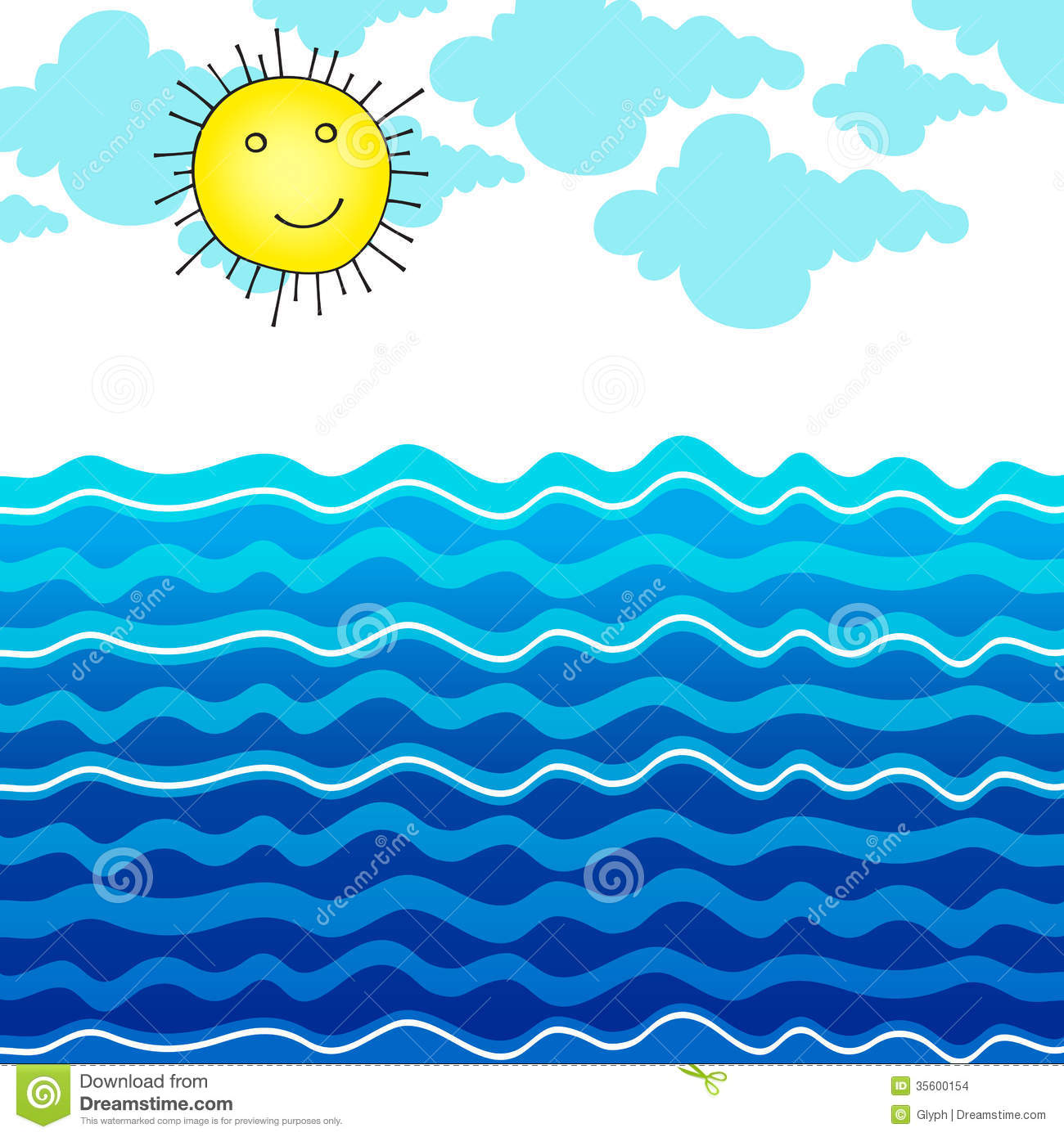 Ocean clipart #16, Download drawings