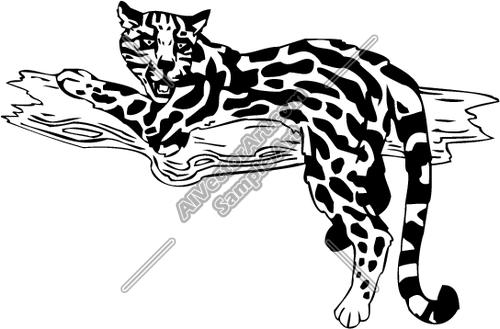Ocelot clipart #12, Download drawings