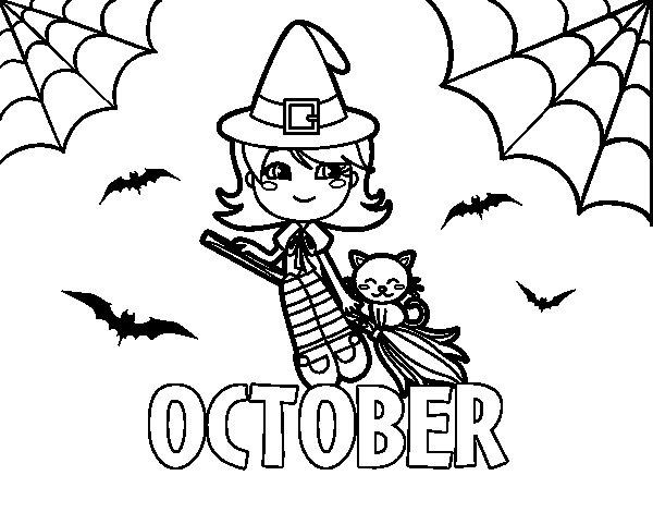 October coloring #15, Download drawings