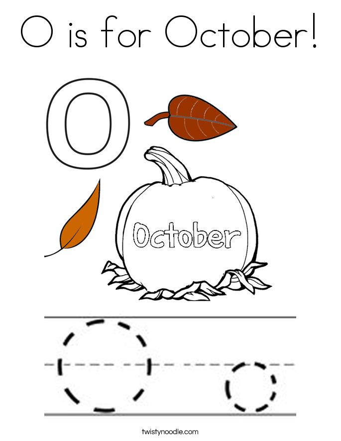 October coloring #14, Download drawings