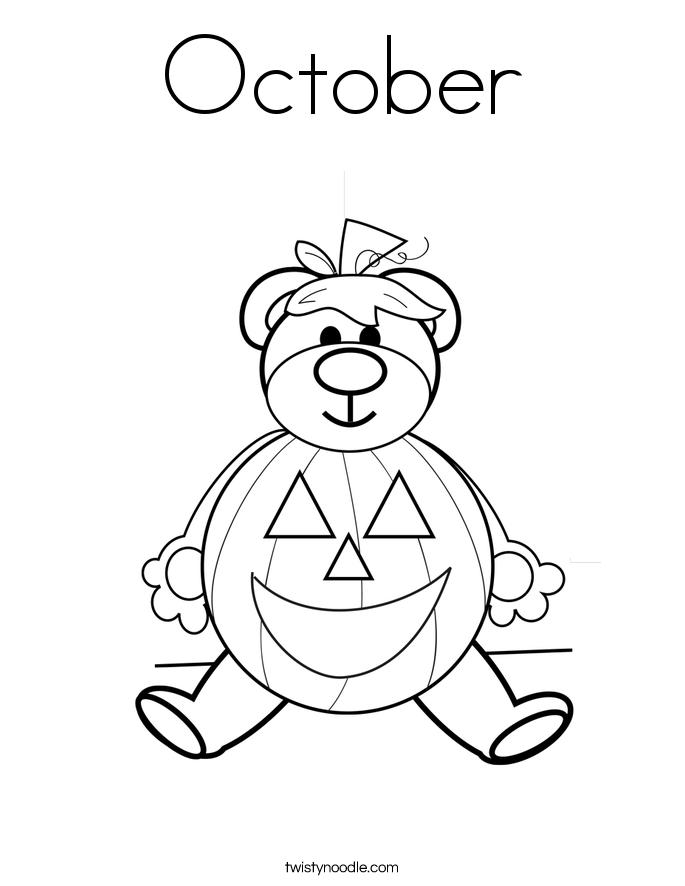October coloring #20, Download drawings