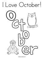 October coloring #4, Download drawings