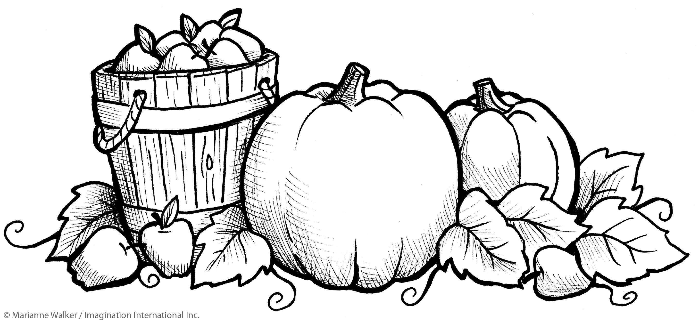 October coloring #5, Download drawings