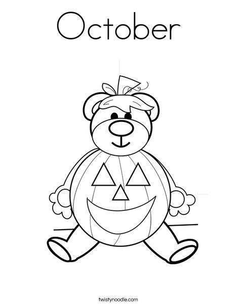 October coloring #18, Download drawings