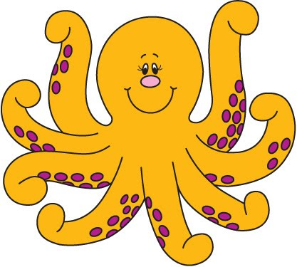 Octupus clipart #10, Download drawings
