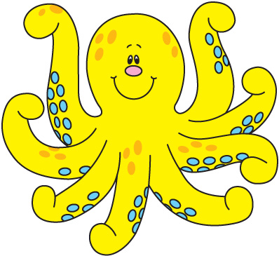 Octupus clipart #7, Download drawings