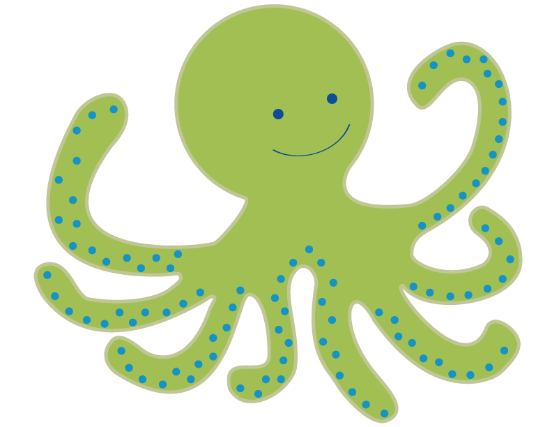 Octopus clipart #9, Download drawings
