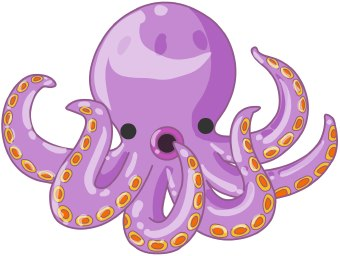 Octopus clipart #1, Download drawings