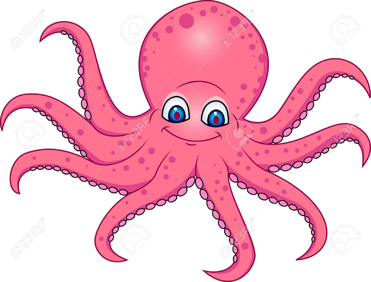 Octopus clipart #8, Download drawings