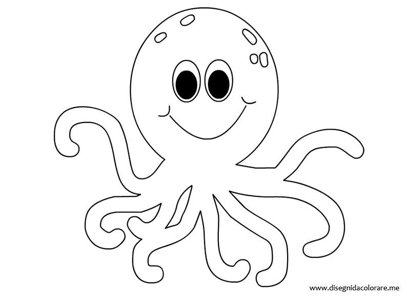 Octopus coloring #2, Download drawings