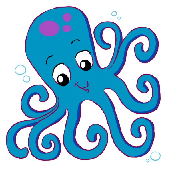 Octupus clipart #5, Download drawings