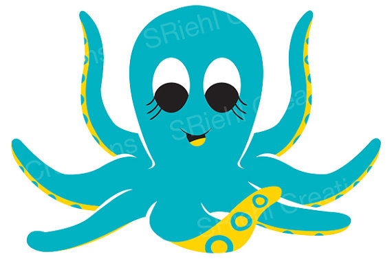 Octupus clipart #6, Download drawings