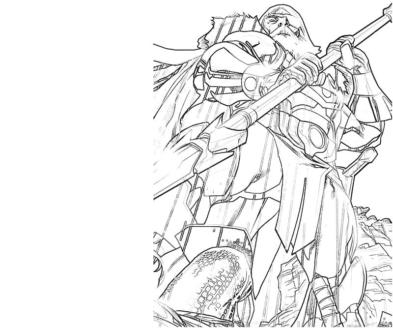 Odin coloring #5, Download drawings