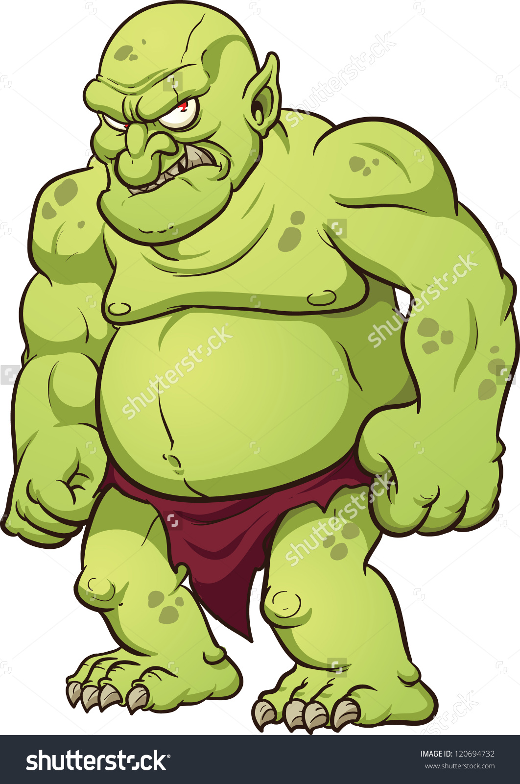 Ogre clipart #2, Download drawings