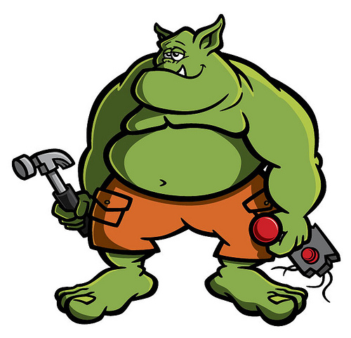 Ogre clipart #13, Download drawings