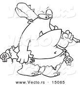 Ogre coloring #11, Download drawings